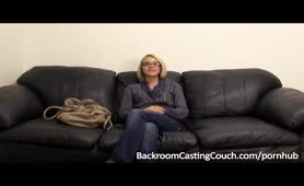 Bella on Backroom Casting Couch