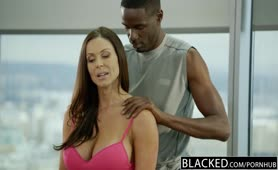 BLACKED Fitness Babe Kendra Lust enjoys enormous black meat