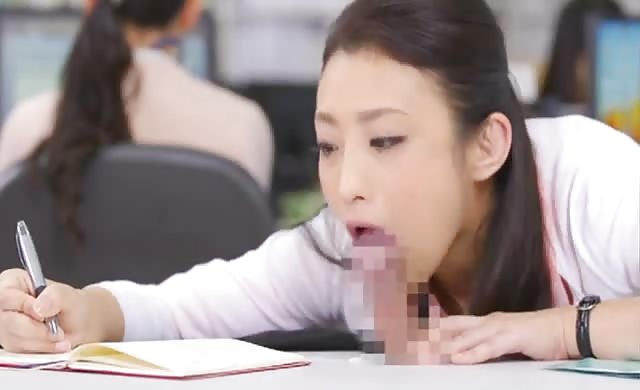 Office blowjob