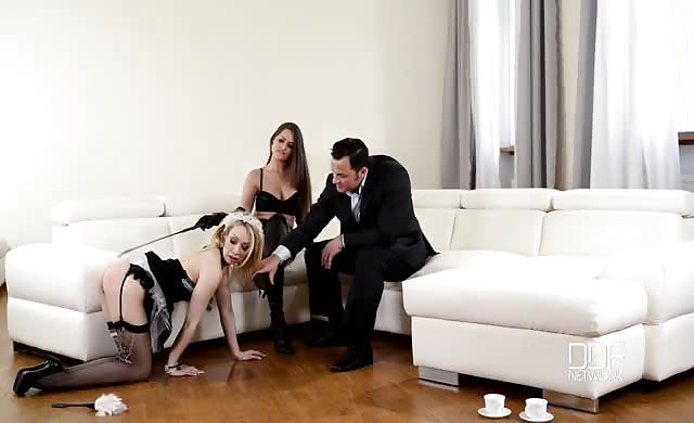 Brutal Fun With naughty Maids