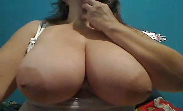 enormous titties Colombian Milf