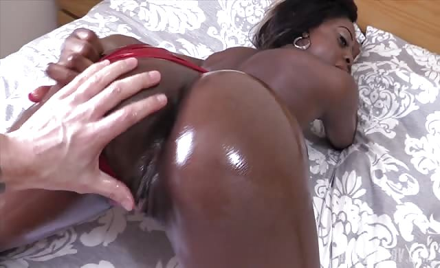 black girl pounded In butt