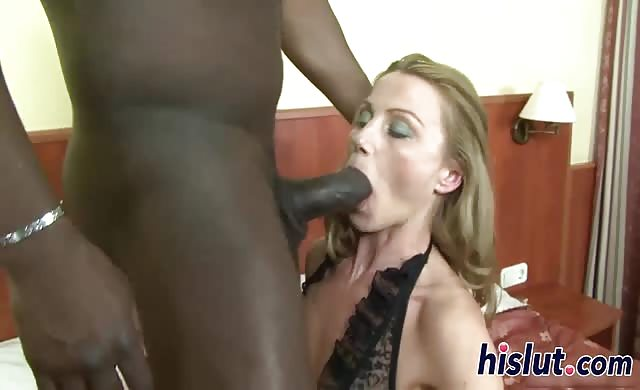 Rough interracial anal session with slutty suzy