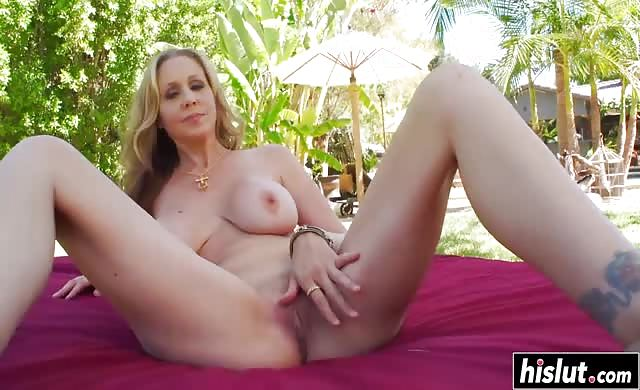 sexy milf julia ann fucked outdoors
