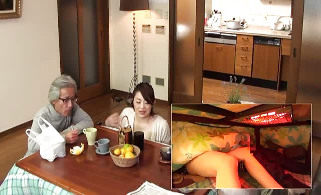 Mother and son secretly play the incest game under kotatsu 2 rct 931