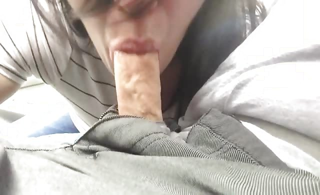 sucking man In The Car
