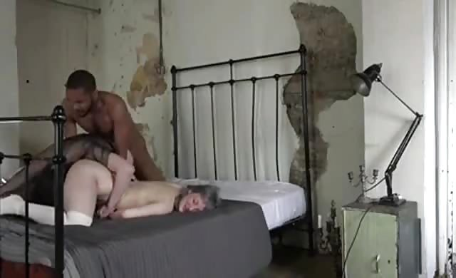 Sizzling Interracial Threesome With Bisexual whores