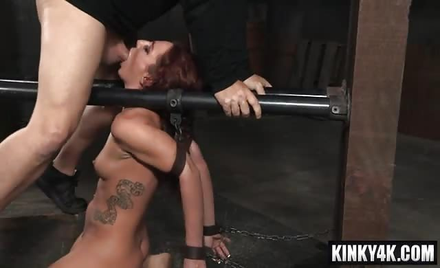 Redhead Pornstar Bdsm And orgasm
