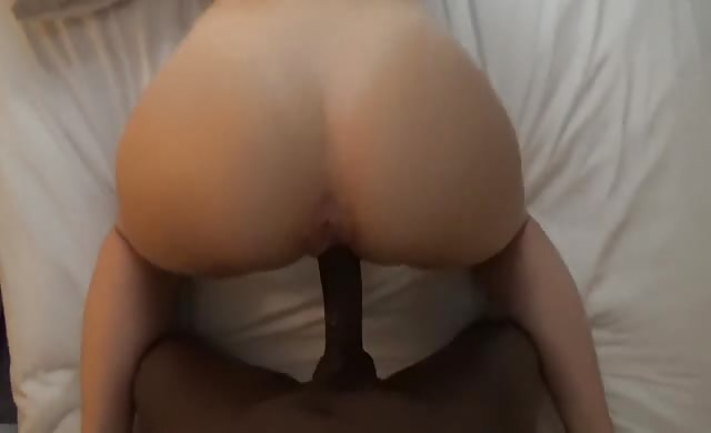 A White behind Made For Interracial Fucking
