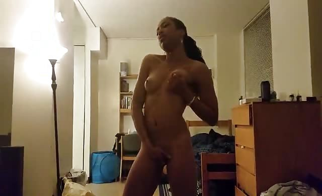lovely black girl licks His meat Well