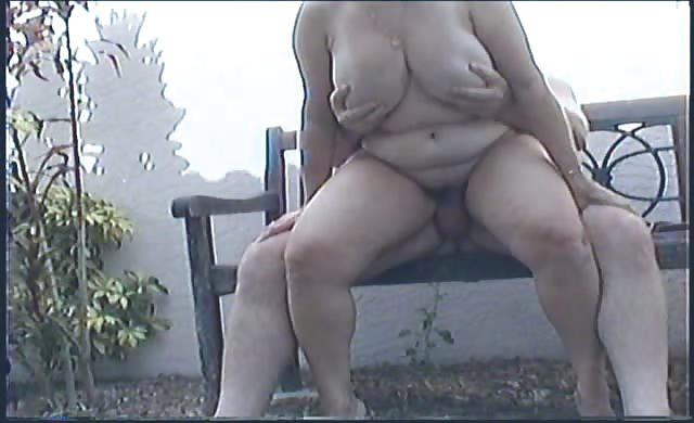 I Get banged Outside In The Garden