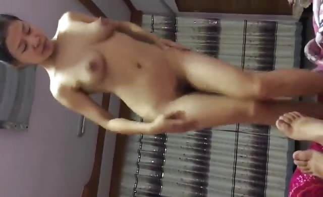 Asian Milf Feels Frisky At Home