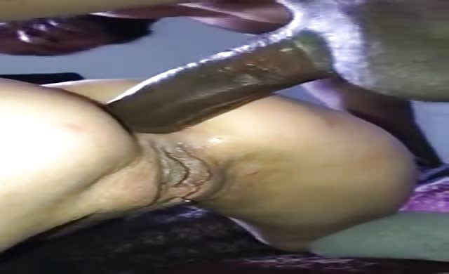 10inc Bbc In Her Ass And She Dont Flinch