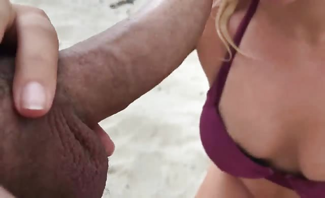 Explosive Massive Anal Creampie At The Beach