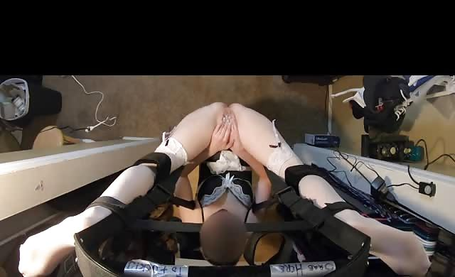 Squirting Dp Orgasm On Our Sex Swing
