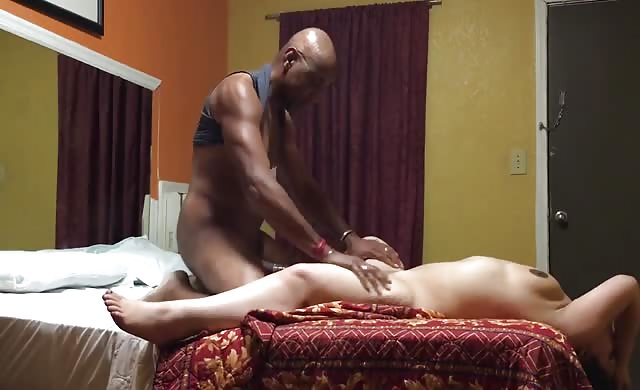 Chubby Girl Gets Dominated By Black Guy